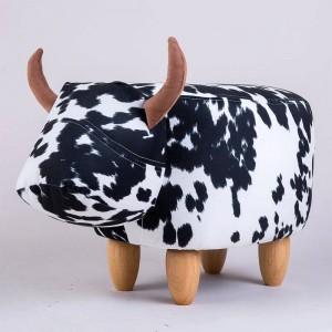 Pouf repose-pieds rembourré avec repose-pieds pour animaux, sans rangement, idéal pour offrir en cadeau, chaussures à langer, décoration, salon de jouets