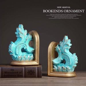 livre vintage se termine serre-livres décoratif décor résine résine sculpture à la main pour la décoration de la maison table artisanat serre-livres pour cadeau