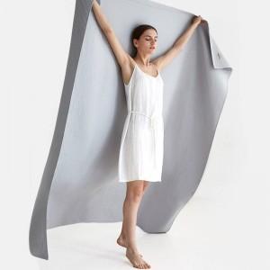 Gaufres Serviette Couverture Canapé Respirant Plage Solide Jeter Couverture De Luxe Cobertor Solide Double Couvertures Pour Lits 3 Couleurs