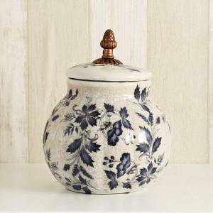 décoration de mariage européenne créative décorative bonbons bidons en céramique bidons de thé réservoirs en céramique européenne nostalgie maison cadeaux