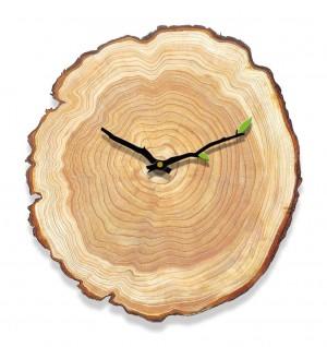 Grain de bois horloge murale salon chambre horloge muette tableaux muraux en bois maison minimaliste moderne anneau annuel horloges européennes